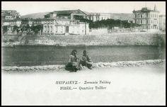 Συνοικία Τσιλλέρ (πλατεία Αλεξάνδρας), καρτ ποστάλ εκδόσεων Γ.Ν. Αλεξάκη. Greece Pictures, Old City, Vintage Pictures, Athens, The Past, Memories, Explore, Painting, Life