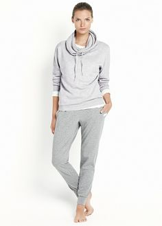 Yoga - Relaxed cotton trousers #Sport #Mango #New