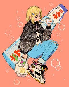 Crisalys is a Chilean artist interested in Illustration art. She describes herself as a Sneaker fan. She often emphasizes sneakers in her drawings. Character Design, Character Art, Art Drawings, Cute Art, Illustration Art, Art Sketches, Cute Drawings, Cartoon Art, Kawaii Art