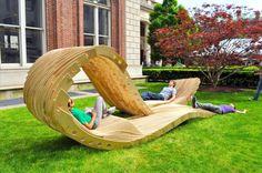 Diseño: Un mobiliario urbano perfecto para relajarse al aire libre | mypinkadvisor.com