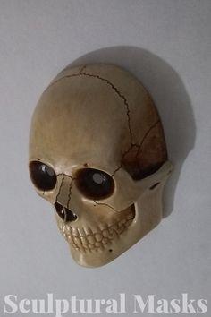 Skull mask Skull Mask, Carnival Masks, Cosplay Ideas, Sculpture, Detail, Amazing, Artist, Cosplay Costumes, Mardi Gras Masks