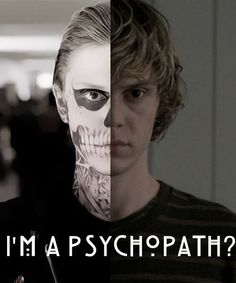 American Horror Story- Tate, my favorite character/psychopath on the show!