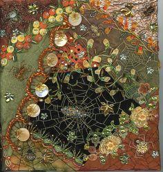 crazy quilt spider web