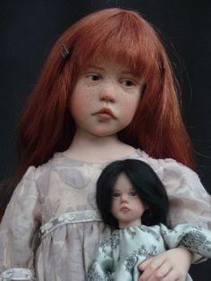 Beautiful doll!  Incredible face!