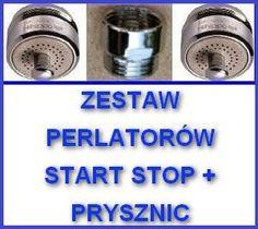 a) Perlatory kpl M24X1 z TT zlewozmywak,umywalka i prysznic