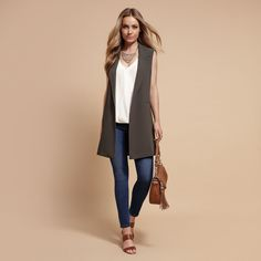 Sahara Sunset Lookbook New Outfits, Cute Outfits, Work Outfits, Sleeveless Jacket, Forever New, Cami Tops, Summer Looks, Spring Summer Fashion, Duster Coat