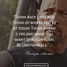 Dwayne Johnson Inspirational Image Quote