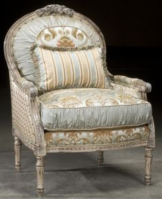 Luxury Upholstered Furniture, Parlor Side Chair