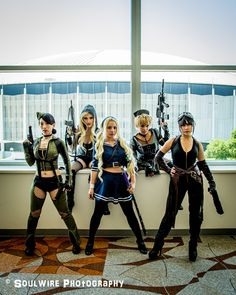 Sucker Punch Group Cosplay http://geekxgirls.com/article.php?ID=7398