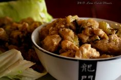 24/7 Low Carb Diner: 5 Spice Chicken Lettuce Cups. Jicama takes the place of rice in this Asian favorite.