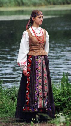 Zanavykai region folk costume, Lithuania