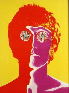 John Lennon photograph by Richard Avedon, 1967