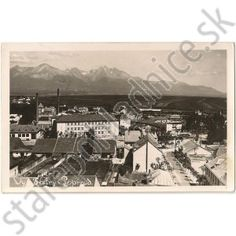 Poprad, Vysoké Tatry