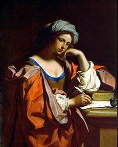 Guercino  1591-1666 Sibilla Persica  Buongiorno a tutti ma proprio tutti voi!