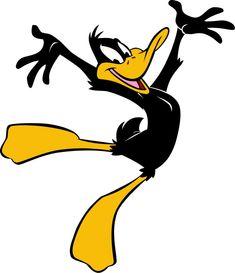 Daffy Duck Licensed Sticker LOT NEW Looney Tunes