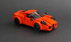 Lego 2017 Alfa Romeo 4C Coupe - 01 | I'm not as much of a fa… | Flickr