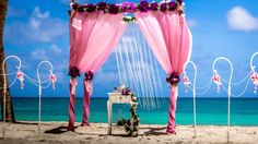 #vintage_wedding_arch, #wedding_bamboo_gazebo, #vintage_wedding_decoration Photo by Nik Vacuum. Organization by http://www.wedding-caribbean.com
