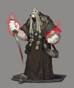Vrykul Mystic, Ryan Metcalf on ArtStation at… Fantasy Character Design, Character Creation, Character Design Inspiration, Character Concept, Character Art, Concept Art, Dnd Characters, Fantasy Characters, Fantasy Warrior