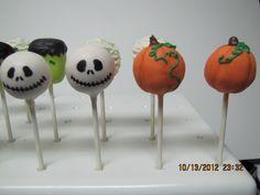Jack Skellington & Pumpkin Cake Pops
