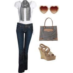 Summer, created by almanunez on Polyvore