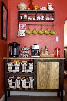 DIY Coffee Bar « Mr. and Mrs. Merrill