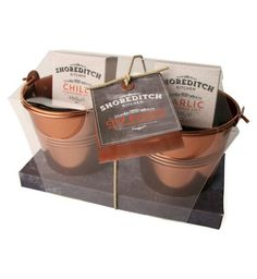 Shoreditch Kitchen Chip Buckets and Salts | Christmas Gift - Boots - £10