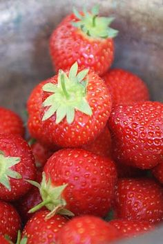 Lovely Red Strawberries. #strawberry. This is my fav fruit but I really don't have a favorite food it's all good fruits.