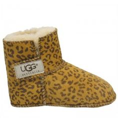 Cheetah uggs!! My kid will have these!