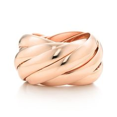 Tiffany, Paloma Picasso Calife ring in 18k rose gold