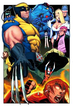 Wolverine and the X-Men by Adrian Nelson