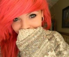 ok so I really want to dye my hair this color ... just for fun!