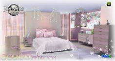 Jom Sims Creations: Goundra bedroom • Sims 4 Downloads