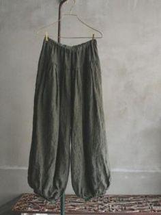 Vlas Blomme pants _ 29,400円
