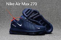 079b3ee1d572 Men s UK Nike Air Max 270 Trainers KPU TPU Dark Blue White Trainers UK Sale