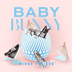 Minna Parikka Baby Bunnies Sneakers - mini:licious by wendy lam Baby Bunnies, Bunny, Childish People, Kids Graphics, Beautiful Children, Cool Kids, Soft Leather, Kids Toys, New Baby Products
