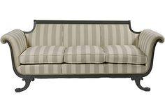 Duncan Phyfe-Style sofa