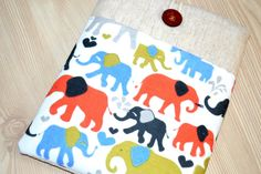 "Elephants 11.6"" laptop Chromebook Case or Microsoft Surface Sleeve Padded Cover,MacBook Air 11"" Case, macbook air case,11 inch macbook by RCRAFTSS on Etsy"