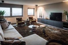 Project penthouse - Hoog ■ Exclusieve woon- en tuin inspiratie. Art Of Living, Living Room, Muebles Living, Luxury Living, Shag Rug, Family Room, New Homes, Interior Design, Modern