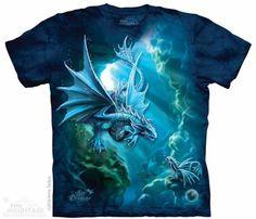 The Mountain Kids Dragon T-shirt | Sea Dragon, Anne Stokes Tees, 155740