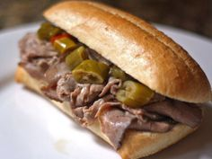 Recreating an authentic Italian beef at home sounds easy, but it's surprisingly hard to do without an industrial meat slicer. I don't know about you, but that's one piece of kitchen gear that I don't have. Fortunately, if you give up on roasting the beef yourself, there's another way.\n