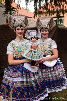 The village is known for its vineyards and wine production. A one-day festival of contemporary electronic dance music called Debercha project takes place in Čajkov annually. Traditional Fashion, Traditional Dresses, Costumes Around The World, Tribal People, Ethnic Dress, Thinking Day, Bratislava, Folk Costume, World Cultures