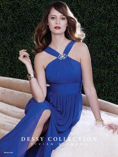 "I saw this in ""Dessy Collection: Vivian Diamond"" in Martha Stewart Weddings Summer 2014 Summer 2014."