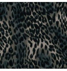 Jersey extensible gris léopard