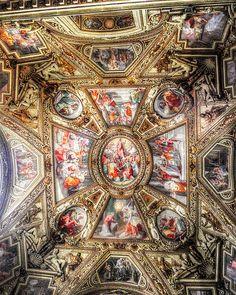 Ceiling, Santa Maria in Trastevere