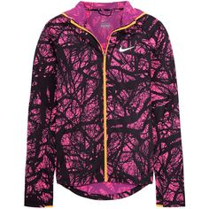 Nike Enchanted Impossibly Light shell jacket ($120) ❤ liked on Polyvore featuring purple and nike