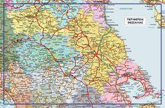 Χάρτης Θεσσαλίας Wall Maps, Diagram, World, Art, The World, Kunst, Peace, Art Education, Earth