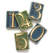 How to do it: Add eye-catching house numbers to make sure your address isn't missed. Estimated cost: Arts and Crafts 2¾-by-3¾-inch glazed ceramic tiles $14 each; Pewabic Pottery