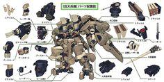 Robot Factory, Robot Concept Art, Ex Machina, Mechanical Design, Gundam Model, Illustration Sketches, Art Model, Character Design Inspiration, Furry Art