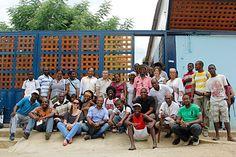 Grupo de trabajo en Palenque