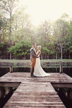 rustic barn wedding in North Florida by Christina Karst Photography via Floridian Weddings